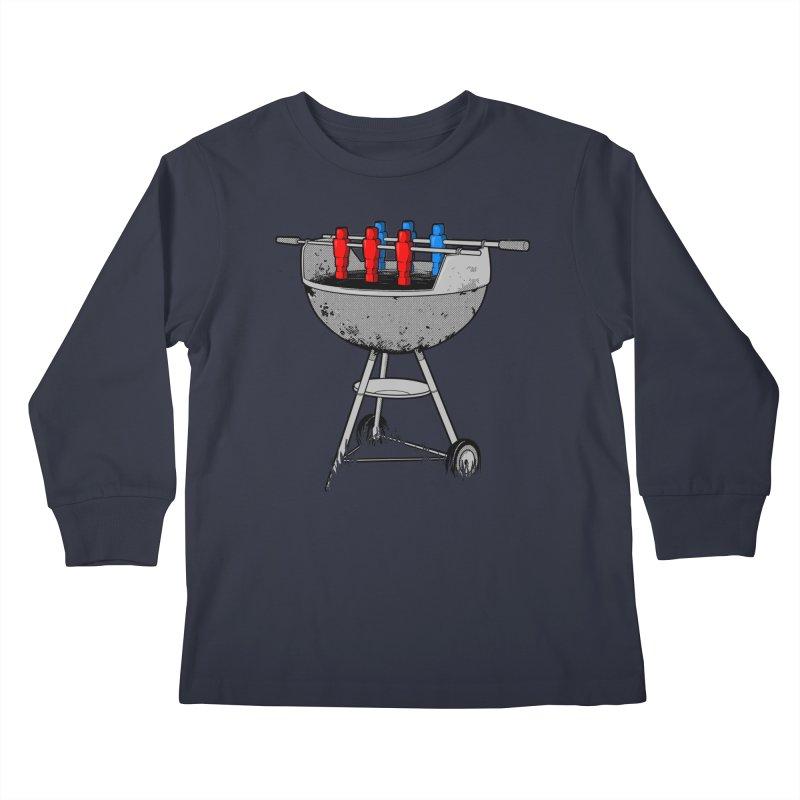 Grillball Kids Longsleeve T-Shirt by Rax's Artist Shop