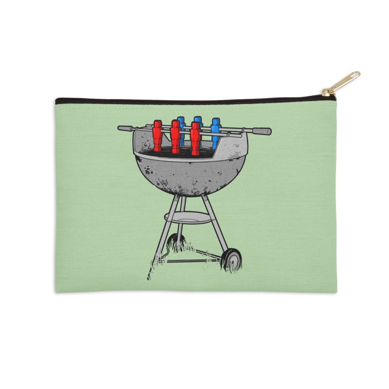 Grillball Accessories Zip Pouch by Rax's Artist Shop