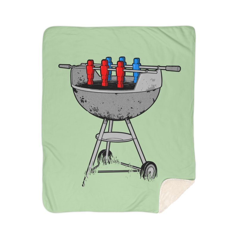 Grillball Home Blanket by Rax's Artist Shop