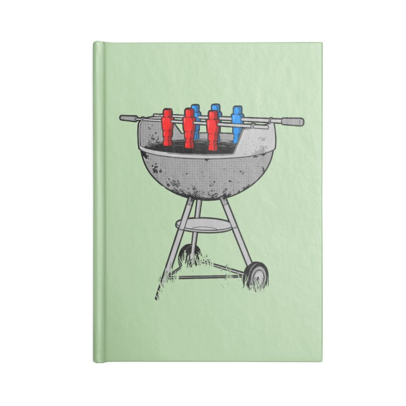 Grillball Accessories Notebook by Rax's Artist Shop