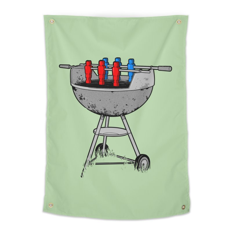 Grillball Home Tapestry by Rax's Artist Shop
