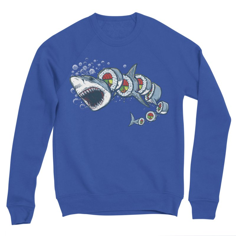 Shark Sushi Women's Sweatshirt by Rax's Artist Shop