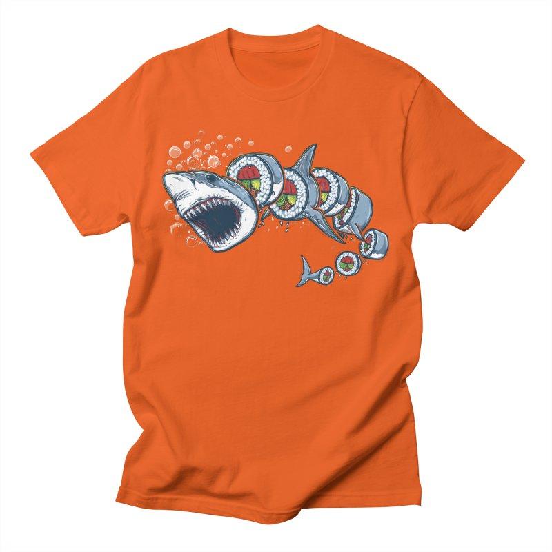 Shark Sushi Men's T-Shirt by Rax's Artist Shop