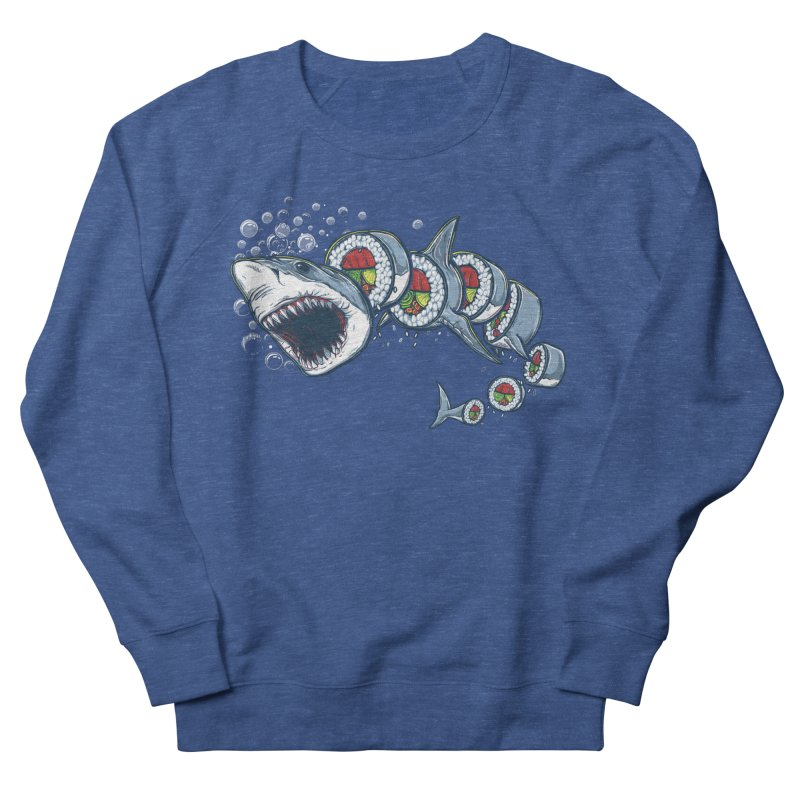 Shark Sushi Men's Sweatshirt by Rax's Artist Shop