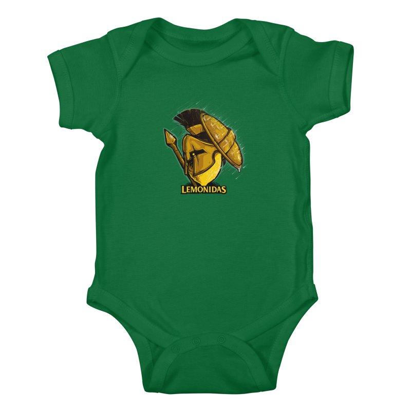 Lemonidas Kids Baby Bodysuit by Rax's Artist Shop