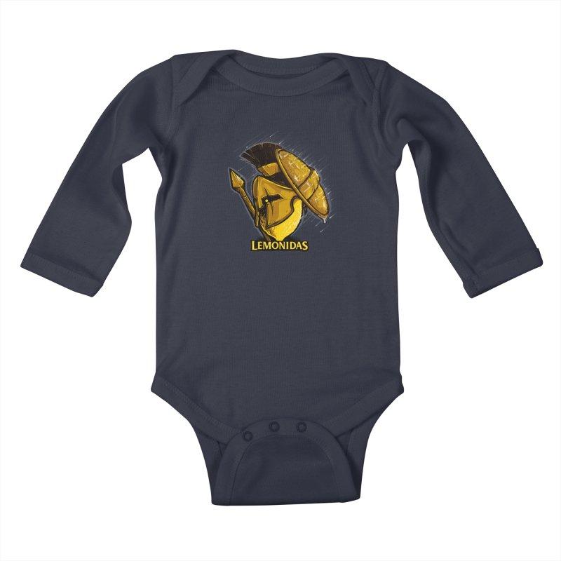 Lemonidas Kids Baby Longsleeve Bodysuit by Rax's Artist Shop