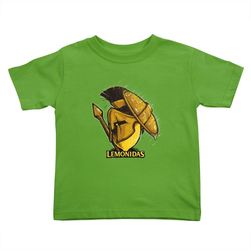 Lemonidas Kids Toddler T-Shirt by Rax's Artist Shop