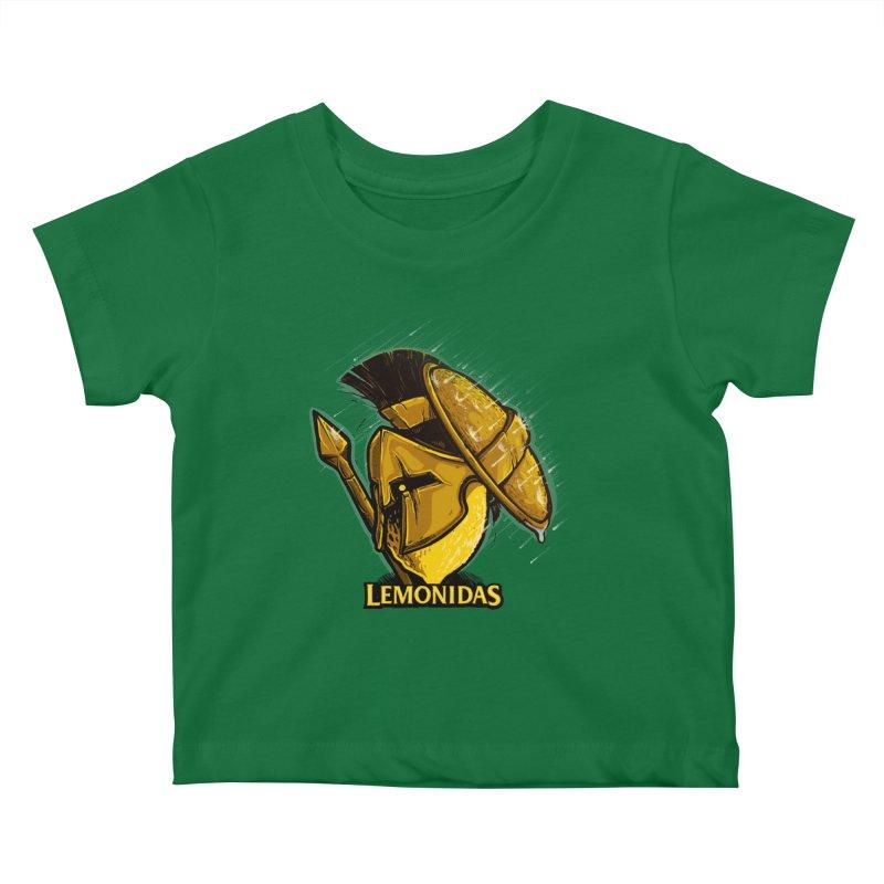 Lemonidas Kids Baby T-Shirt by Rax's Artist Shop