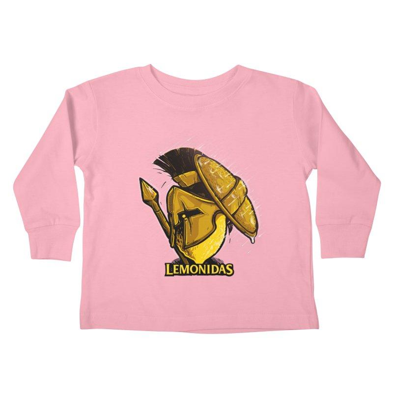Lemonidas Kids Toddler Longsleeve T-Shirt by Rax's Artist Shop