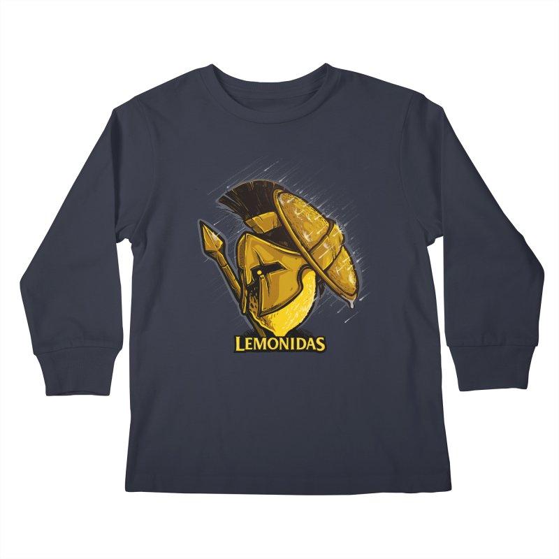 Lemonidas Kids Longsleeve T-Shirt by Rax's Artist Shop