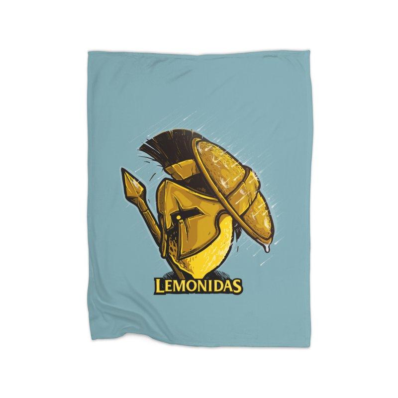 Lemonidas Home Blanket by Rax's Artist Shop