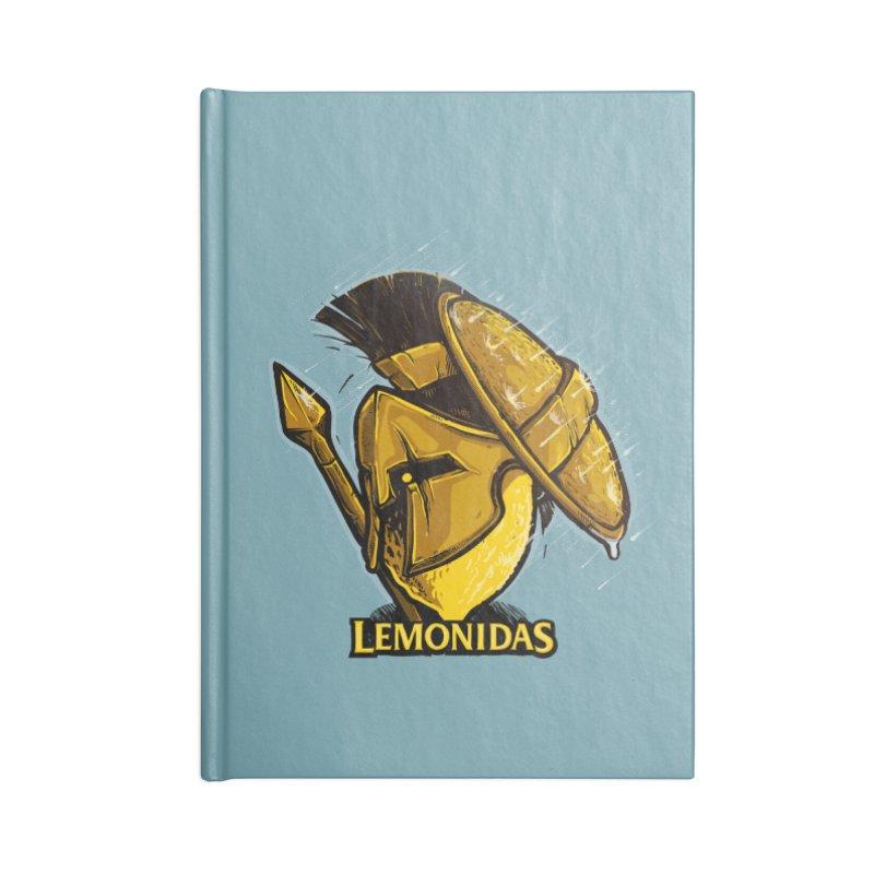 Lemonidas Accessories Notebook by Rax's Artist Shop