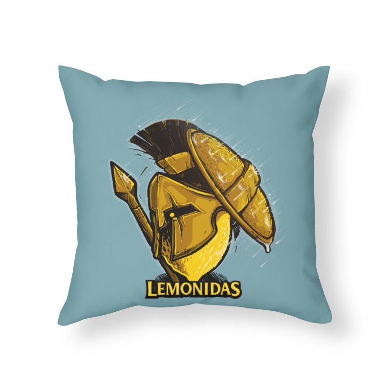 Lemonidas Home Throw Pillow by Rax's Artist Shop