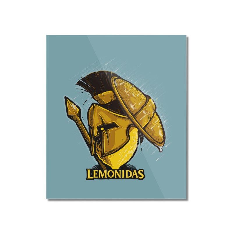 Lemonidas Home Mounted Acrylic Print by Rax's Artist Shop