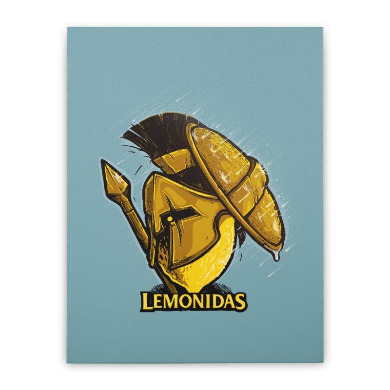 Lemonidas Home Stretched Canvas by Rax's Artist Shop