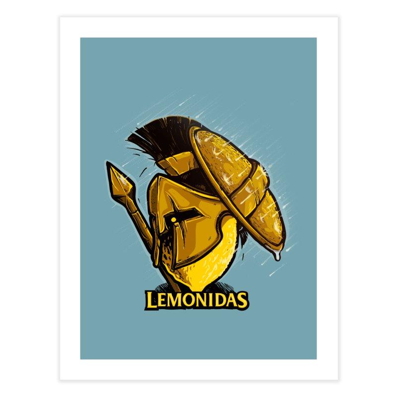 Lemonidas Home Fine Art Print by Rax's Artist Shop