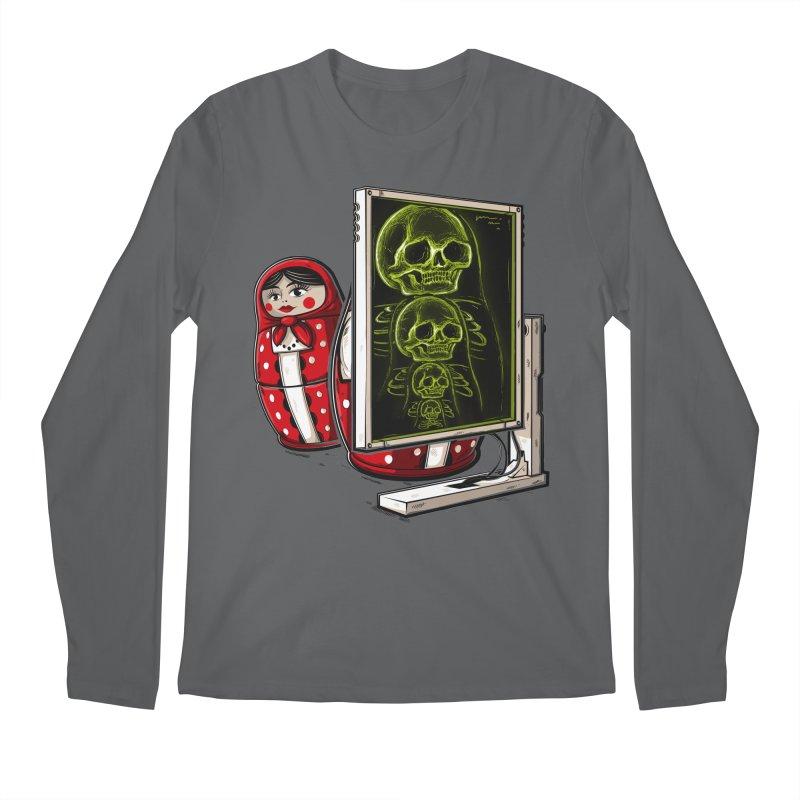 Matryoshka X-ray Men's Longsleeve T-Shirt by Rax's Artist Shop