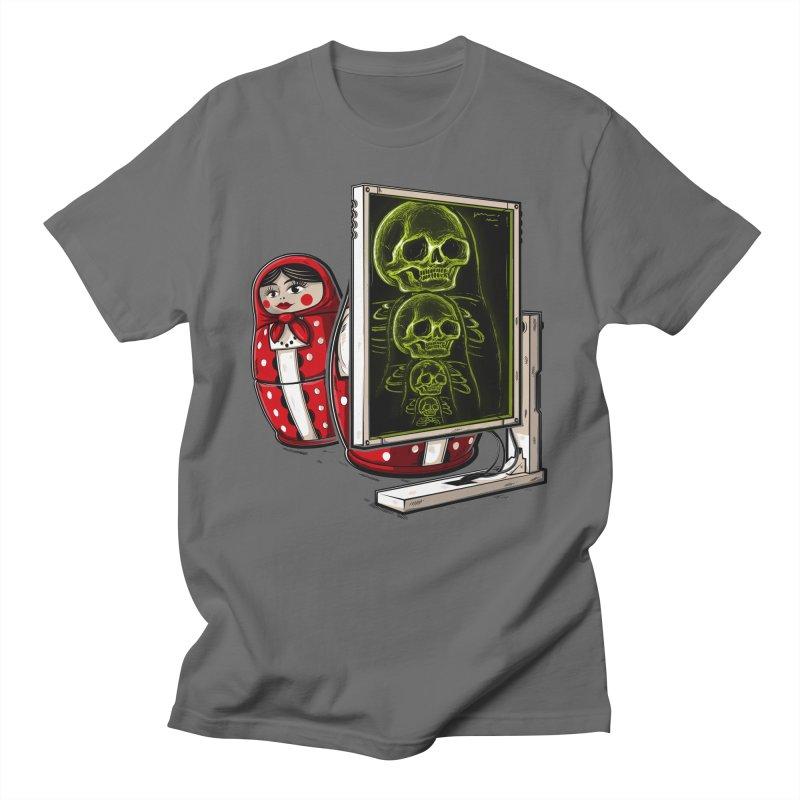 Matryoshka X-ray Men's T-Shirt by Rax's Artist Shop