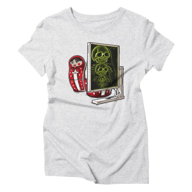 Matryoshka X-ray Women's T-Shirt by Rax's Artist Shop