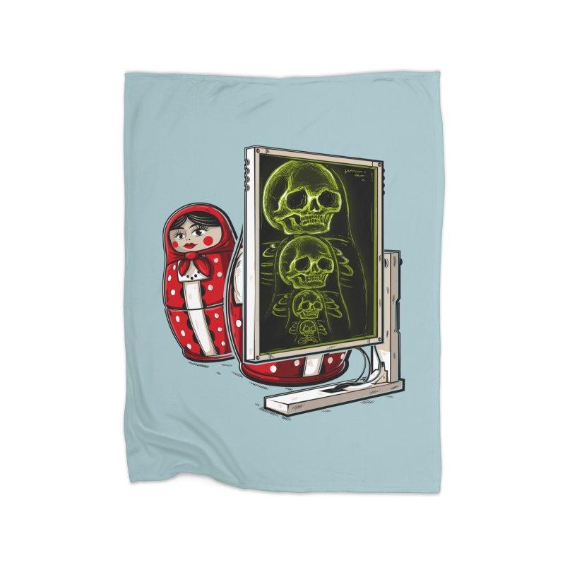 Matryoshka X-ray Home Blanket by Rax's Artist Shop