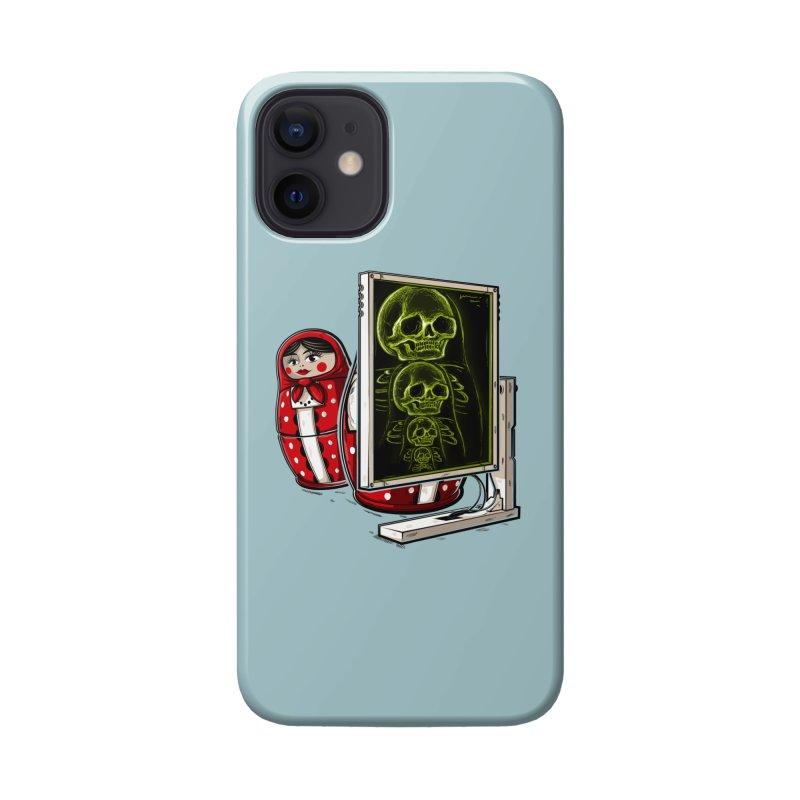 Matryoshka X-ray Accessories Phone Case by Rax's Artist Shop