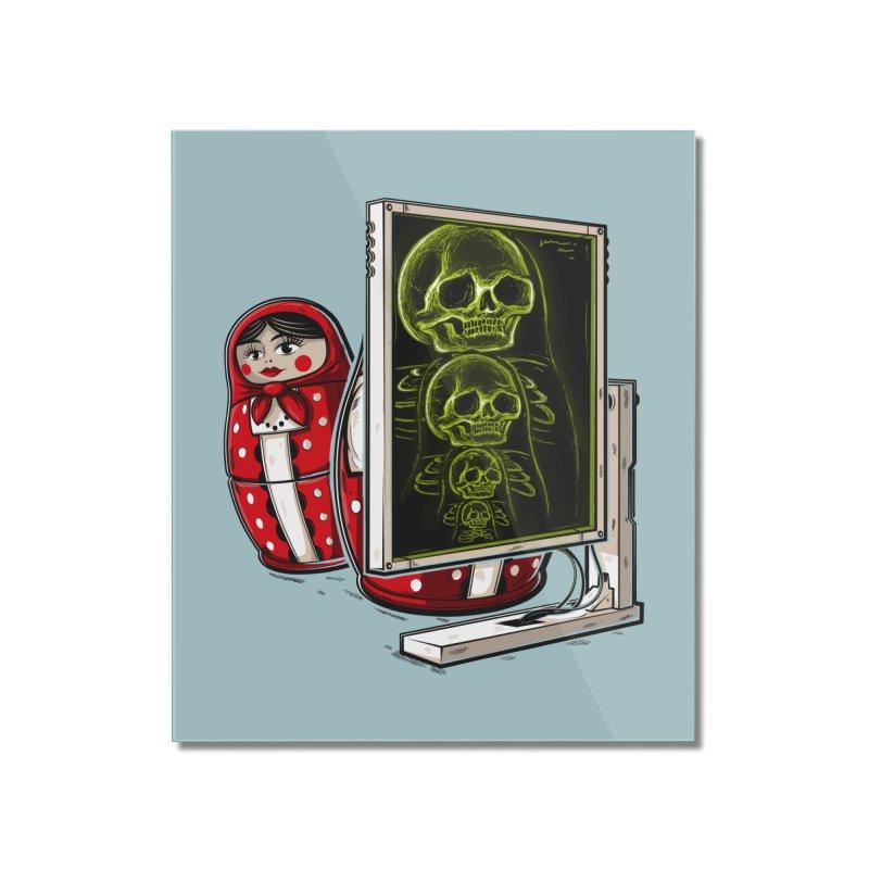 Matryoshka X-ray Home Mounted Acrylic Print by Rax's Artist Shop