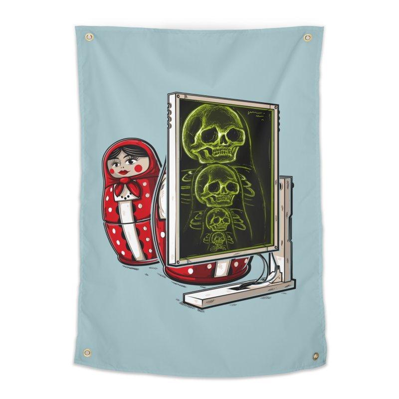 Matryoshka X-ray Home Tapestry by Rax's Artist Shop