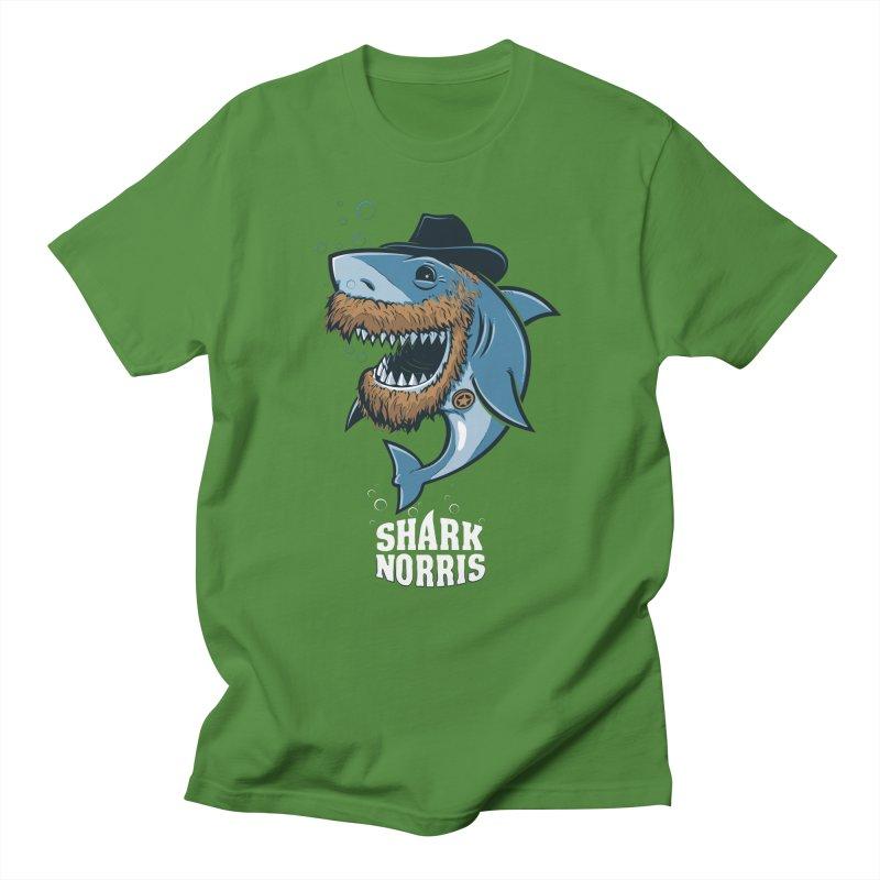 Shark Norris Men's T-Shirt by Rax's Artist Shop