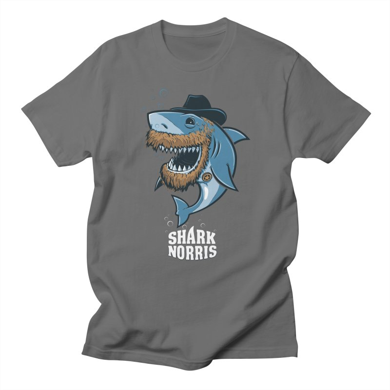 Shark Norris Men's T-Shirt by Rax's Artist Shop