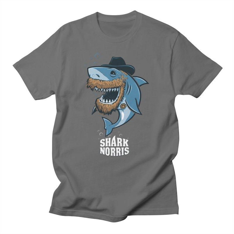 Shark Norris Women's T-Shirt by Rax's Artist Shop