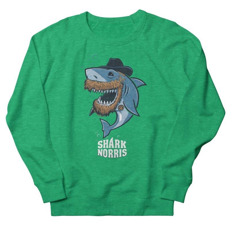 Shark Norris Women's Sweatshirt by Rax's Artist Shop