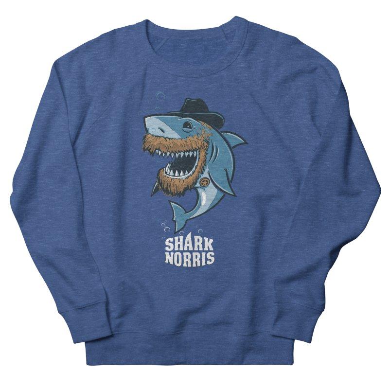 Shark Norris Men's Sweatshirt by Rax's Artist Shop