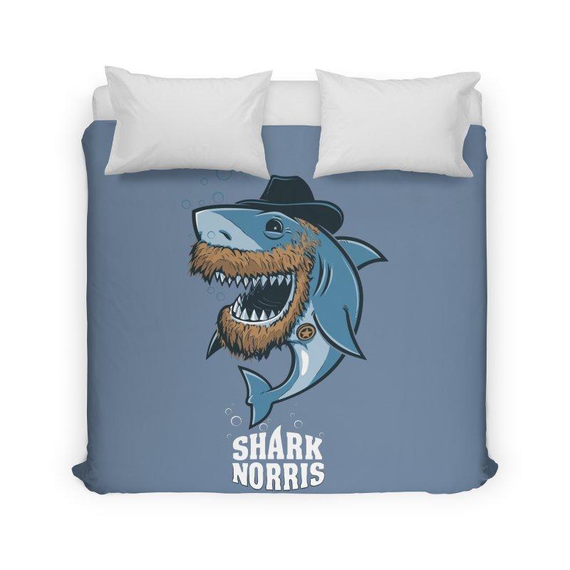 Shark Norris Home Duvet by Rax's Artist Shop