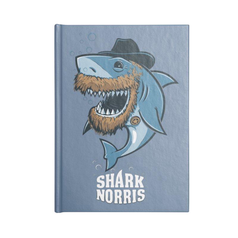Shark Norris Accessories Notebook by Rax's Artist Shop