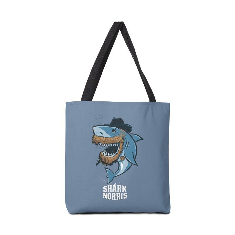 Shark Norris Accessories Bag by Rax's Artist Shop