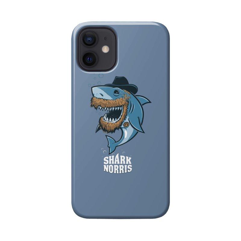 Shark Norris Accessories Phone Case by Rax's Artist Shop