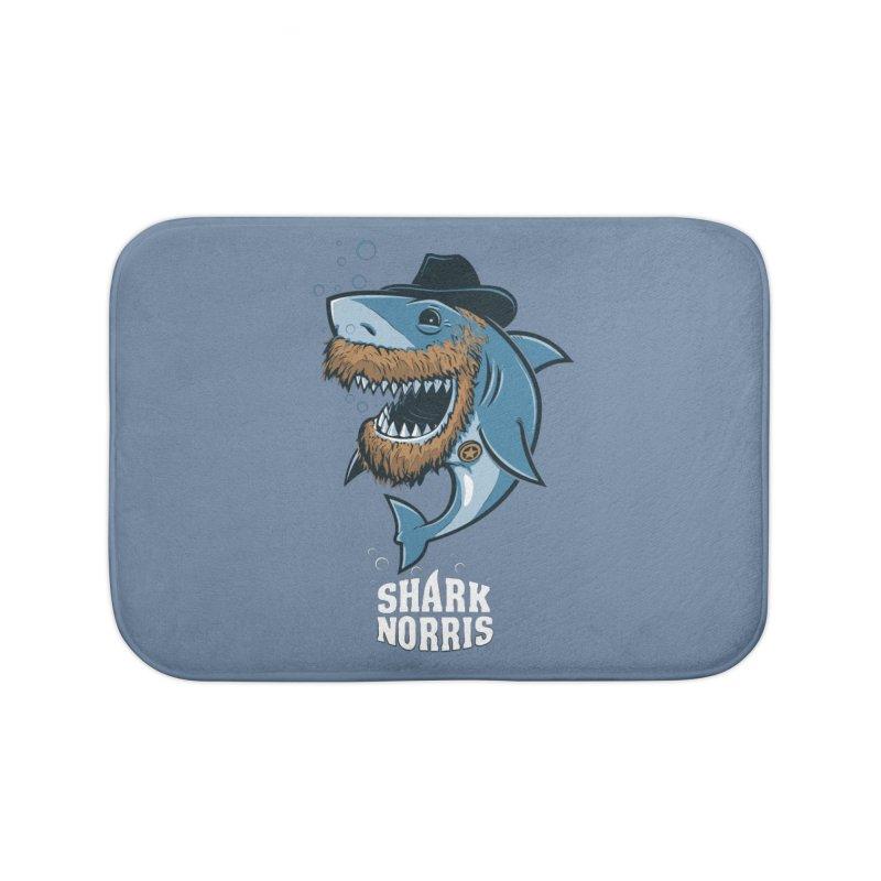 Shark Norris Home Bath Mat by Rax's Artist Shop