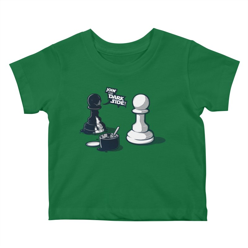 Join the dark side! Kids Baby T-Shirt by Rax's Artist Shop
