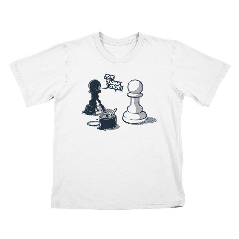 Join the dark side! Kids T-Shirt by Rax's Artist Shop