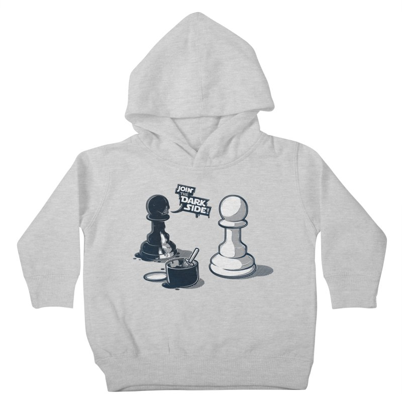 Join the dark side! Kids Toddler Pullover Hoody by Rax's Artist Shop