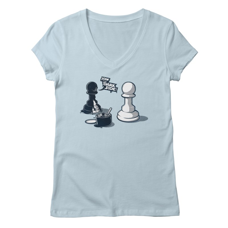 Join the dark side! Women's V-Neck by Rax's Artist Shop