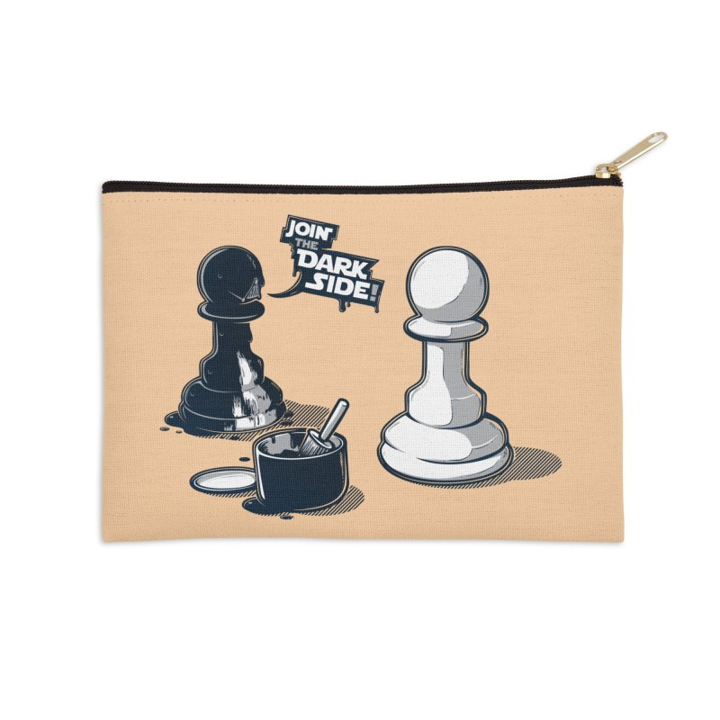 Join the dark side! Accessories Zip Pouch by Rax's Artist Shop