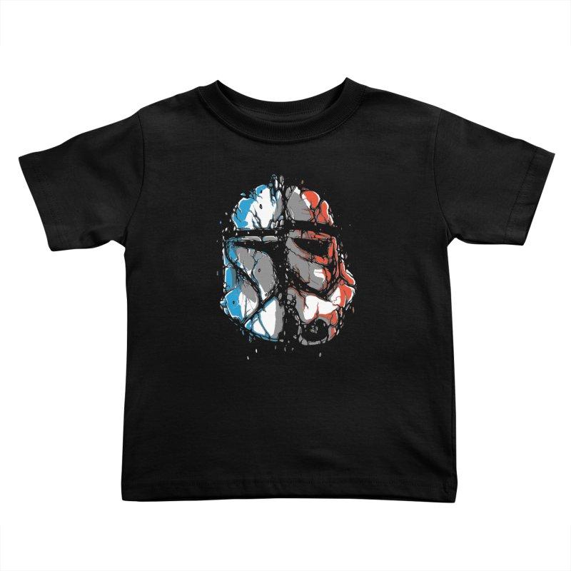 Republic vs Empire Kids Toddler T-Shirt by Rax's Artist Shop