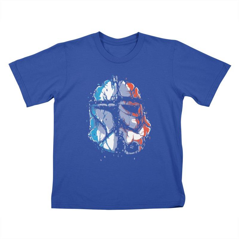 Republic vs Empire Kids T-Shirt by Rax's Artist Shop