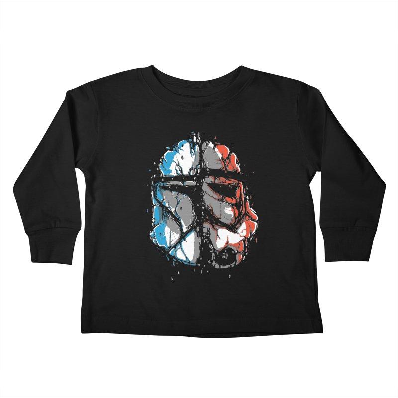 Republic vs Empire Kids Toddler Longsleeve T-Shirt by Rax's Artist Shop