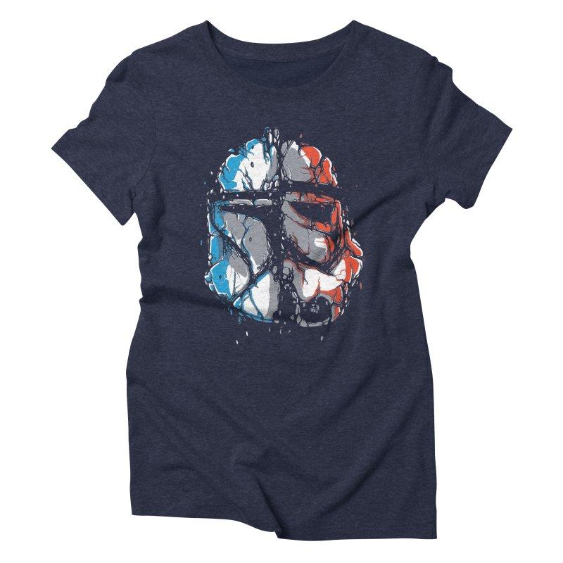 Republic vs Empire Women's T-Shirt by Rax's Artist Shop