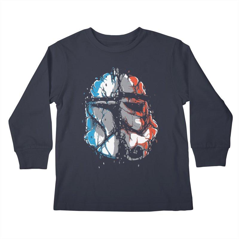 Republic vs Empire Kids Longsleeve T-Shirt by Rax's Artist Shop