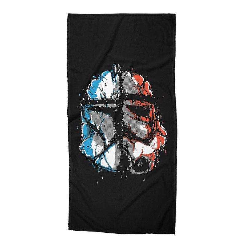 Republic vs Empire Accessories Beach Towel by Rax's Artist Shop