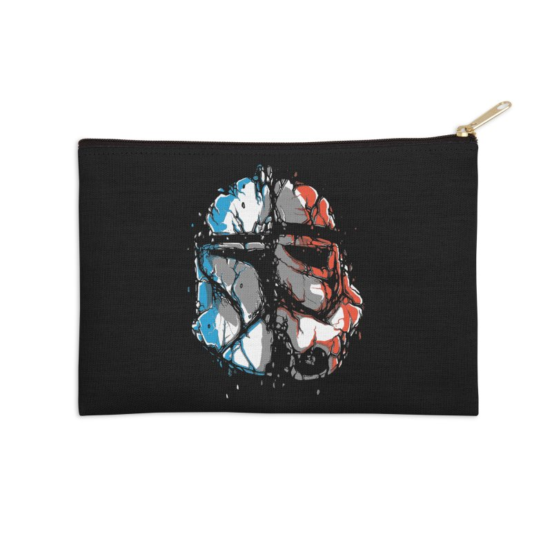 Republic vs Empire Accessories Zip Pouch by Rax's Artist Shop