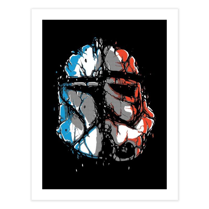 Republic vs Empire Home Fine Art Print by Rax's Artist Shop